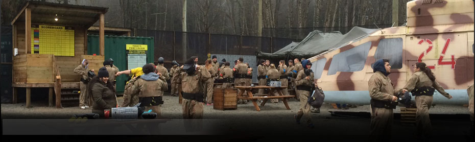 Delta Force Paintball Base Camp