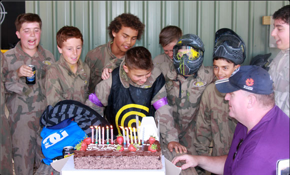 Birthday parties at Delta Force Paintball, Tsawwassen, Vancouver
