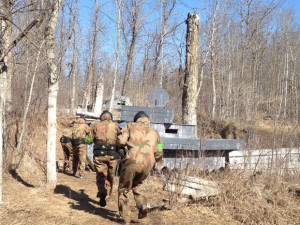 Armoured Invasion Delta Force Paintball