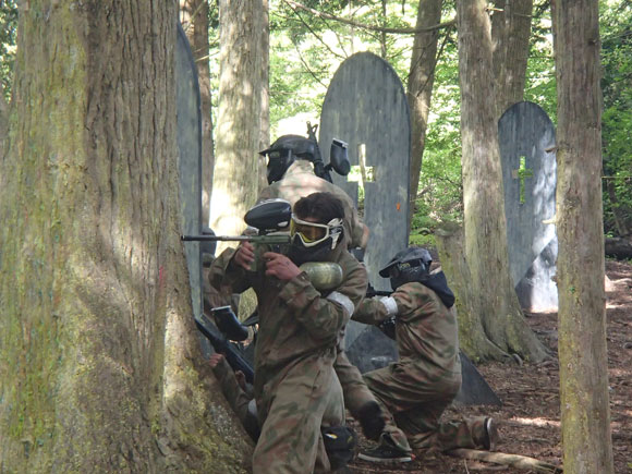 Resident Evil Delta Force Paintball