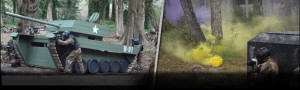 Delta Force Paintball Game Zones