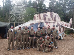 Rambo Chopper at Delta Force paintball Tsawwassen