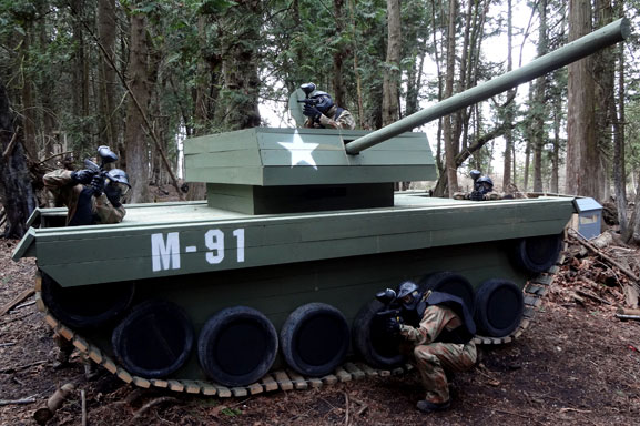 Armoured Invasion